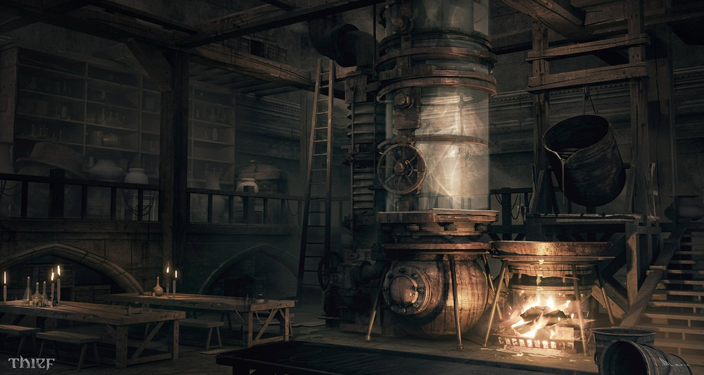 09-HoB-Opium-Room-Mathieu-Latour-Duhaime-Concept-Art-for-Thief-Steampunk-feel-Video-Game-www-designstack-co