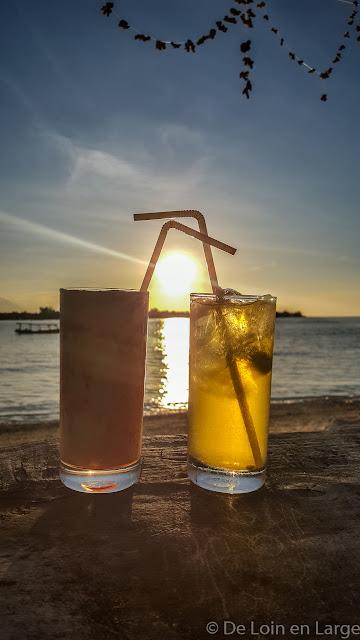 Diana Café - Gili Meno - Bali Lombok