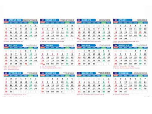 Jadwal libur nasional 2019
