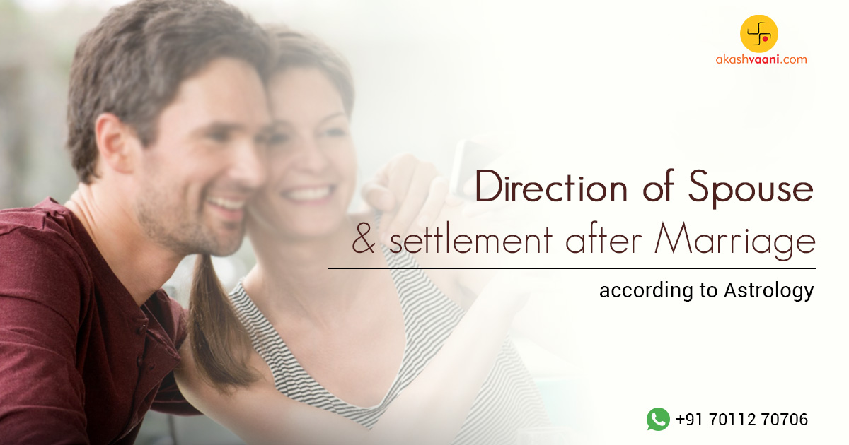 Direction of Future Spouse and Settlement After Marriage