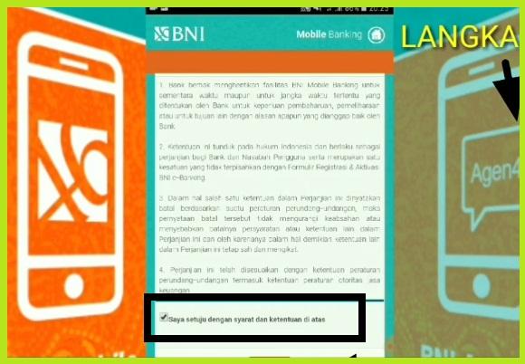 Cara Aktivasi BNI Mobile Banking Via Hp Android 2