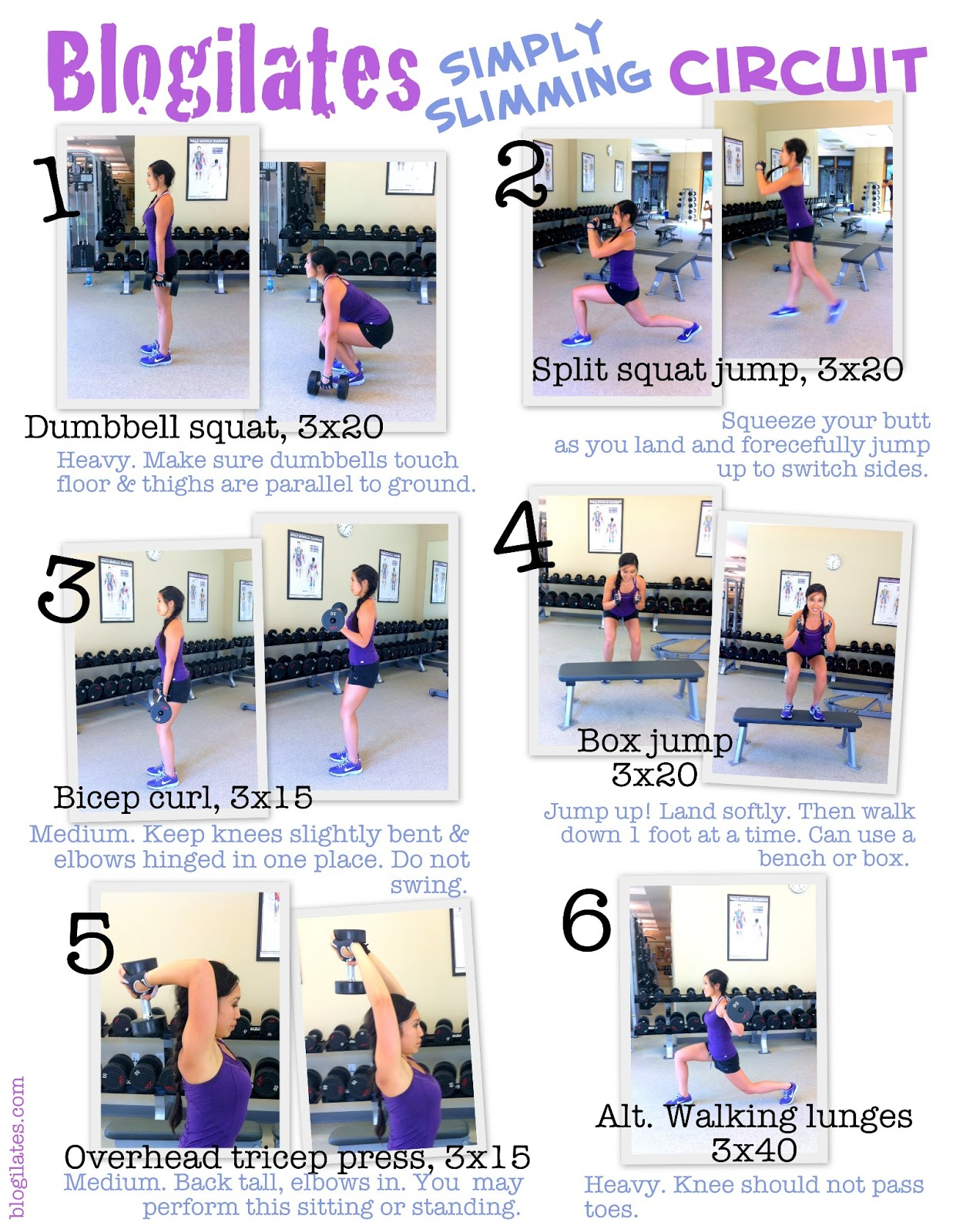 Living Room Exercise Routine