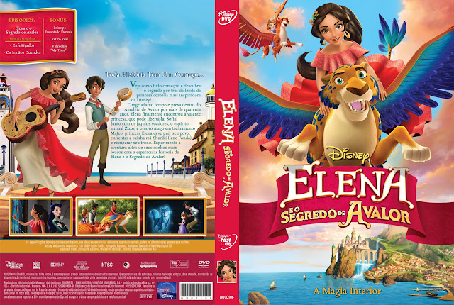 Capa DVD Elena e o Segredo de Avalor [Exclusiva]
