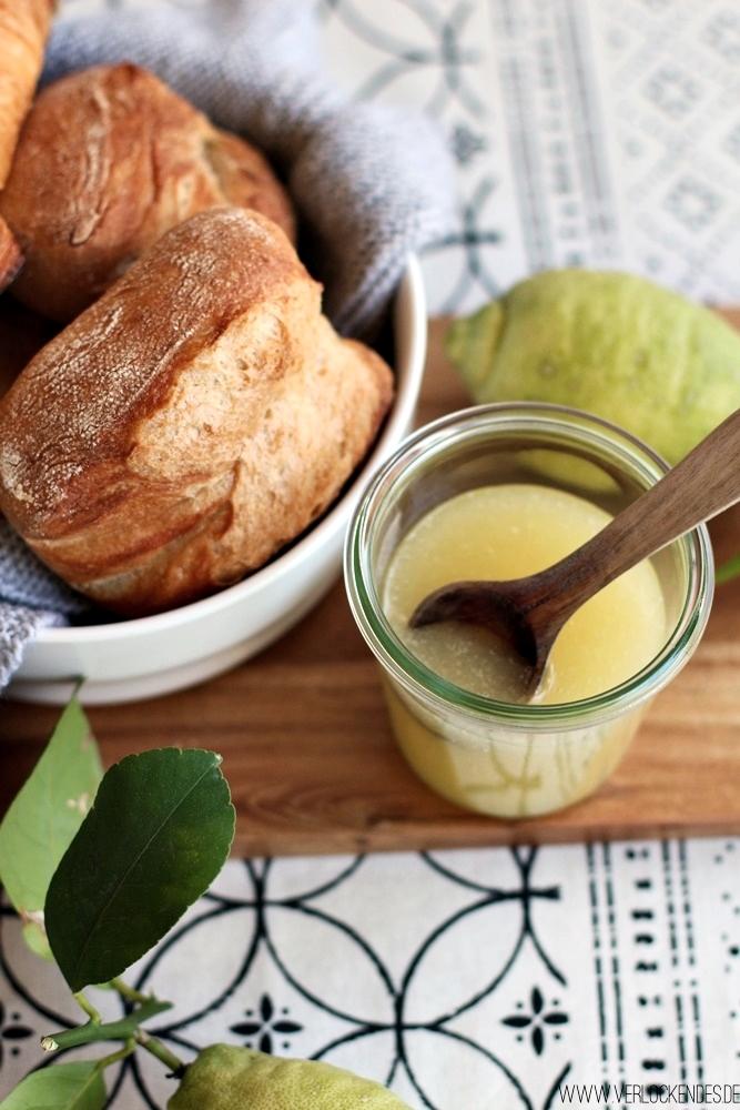 Zitronen Aufstrich schnelle Rezepte Frühstück