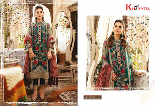 Khayyira Freesia Pakistani Salwar Kameez wholesale price