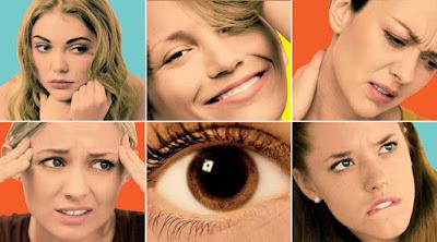 6 تعابير تكشف لك عن ما في داخل المرأة الوجه woman reactions face
