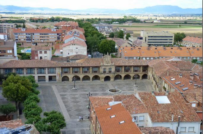 Vistas de Santo Domingo de la Calzada desde la Torre de la Catedral.