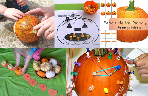 Pumpkin Math Activities for Preschoolers