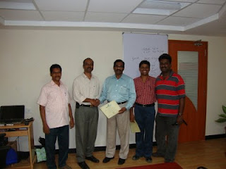 Group Photo of another PMP Team