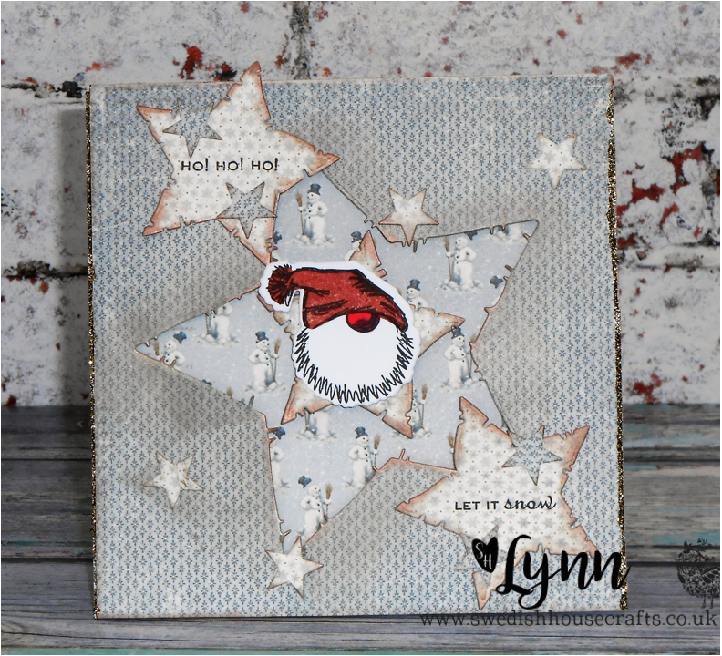 Crafty Linby: Santa is a star! for Swedish House Crafts DT