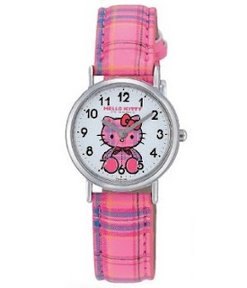 Gambar Jam Tangan Hello Kitty 7
