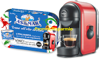 Logo Con Asdomar vinci  250 macchine da caffè Minù Lavazza + kit degustazione