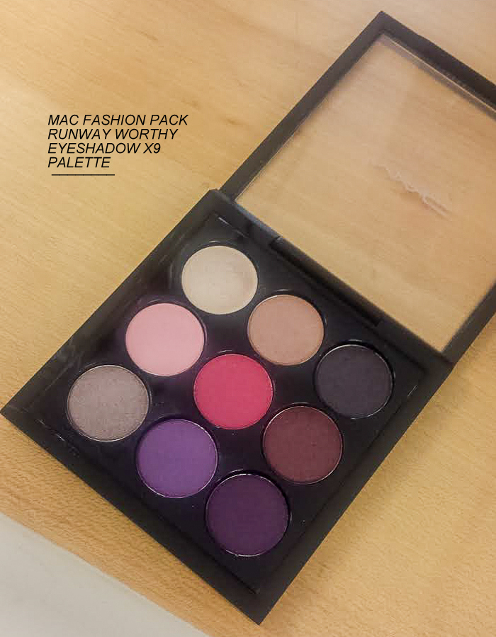 MAC Fashion Pack Makeup Collection - Runway Worthy Eyeshadow x 9 Palette