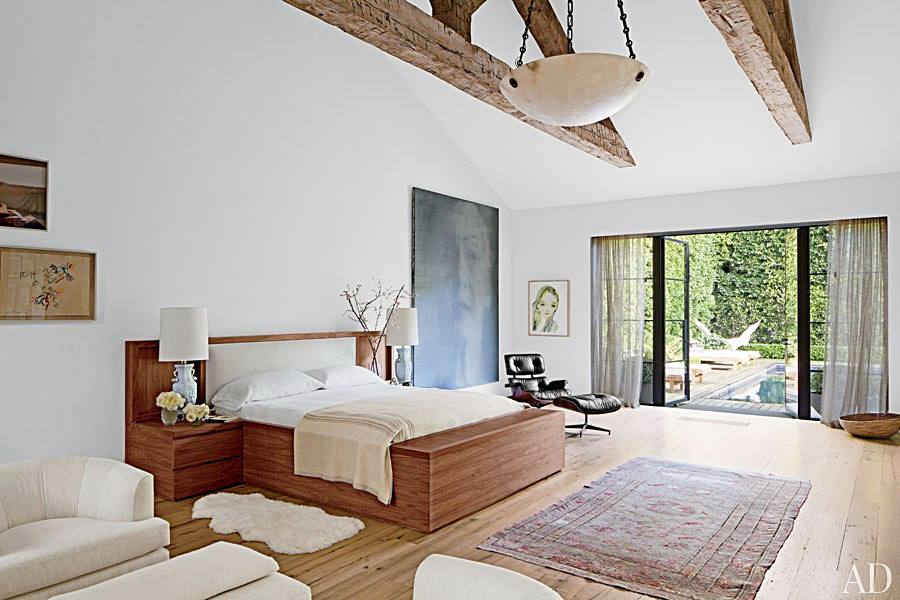 Interior Envy Jenni Kayne's L.A. Home Masterbedroom