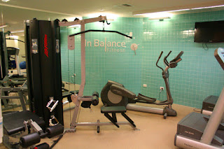 Fitness centre, Novotel Cathedral Square, Christchurch, New Zealand