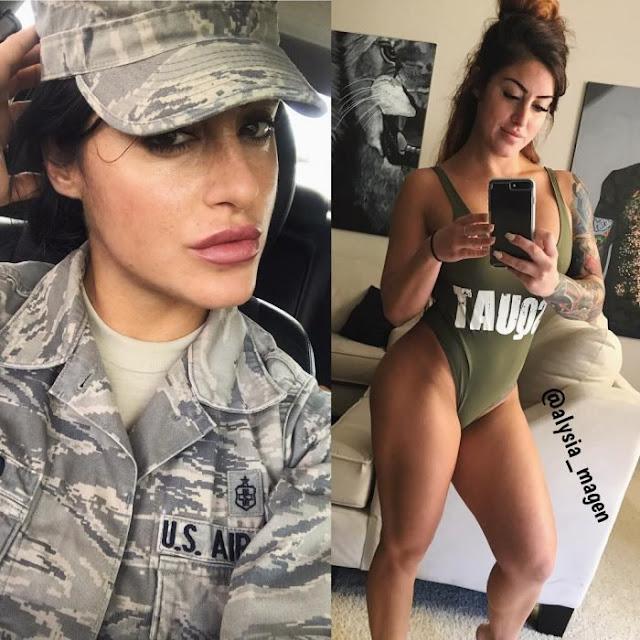 Conozcan a la mejor soldado y modelo de la FA de EEUU