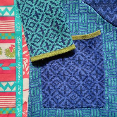 Gudrun Sjödén's sensational Murano knitted coat, Spring 2016