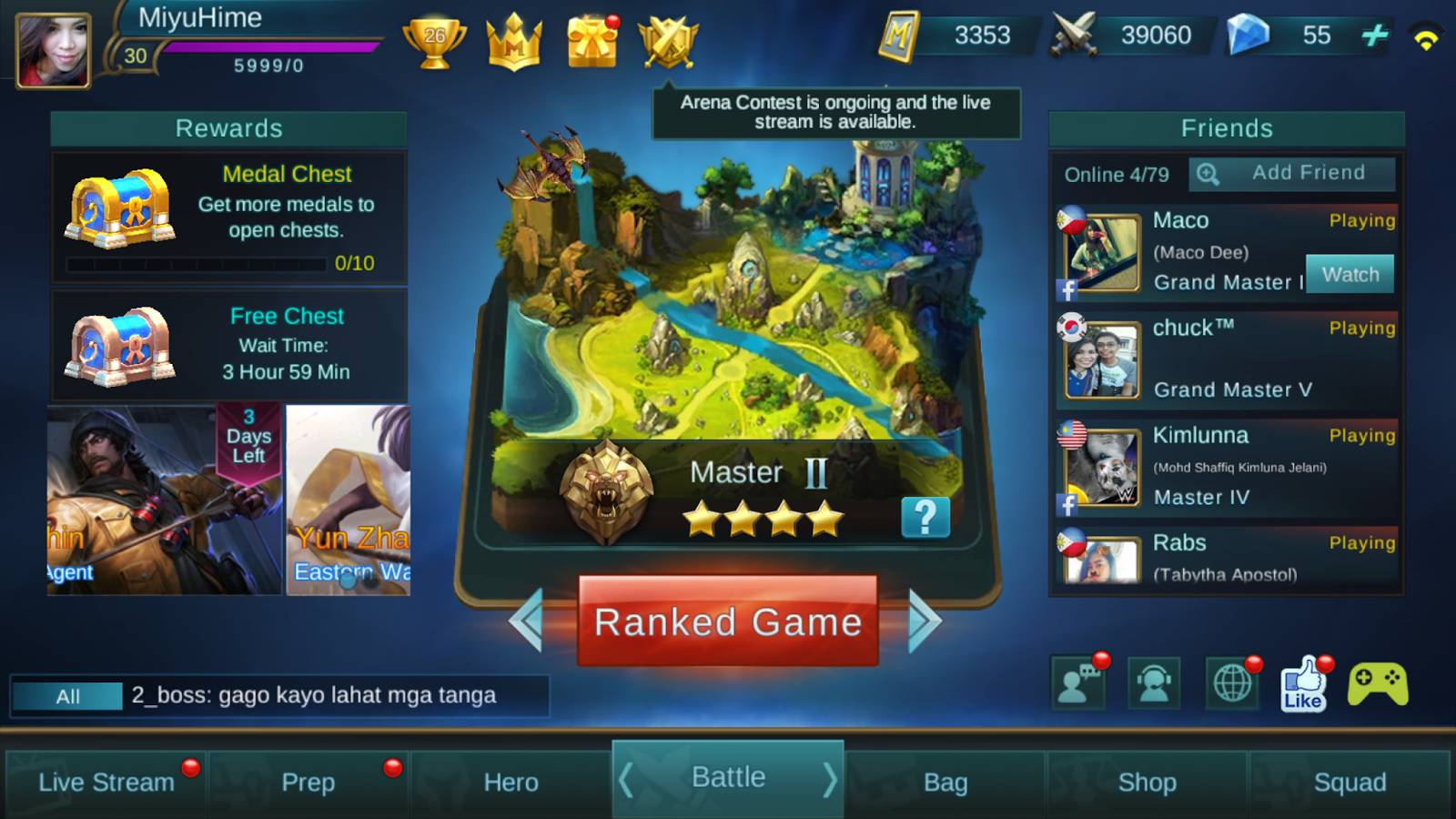 Miyus diary heroes evolve vs mobile legends what i like about ml is you can create and bring in your squad to battle team play is a must in every rank game ccuart Images