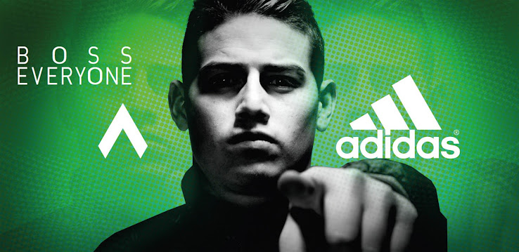 James Rodriguez Trains In Blackout Next Gen Adidas Ace Primeknit Boots