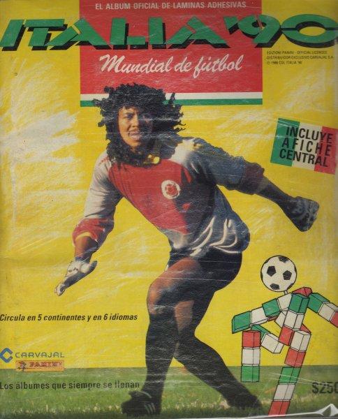 Edizione colombiana album  Italia 90