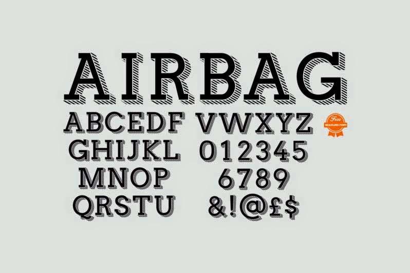 Airbag font