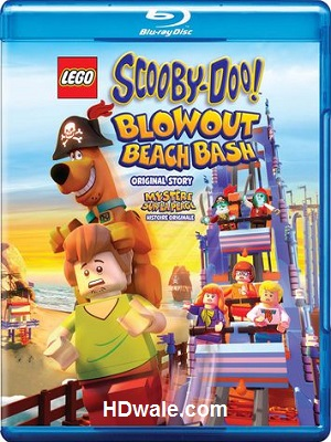 Lego Scooby-Doo! Blowout Beach Bash (2017) English BluRay