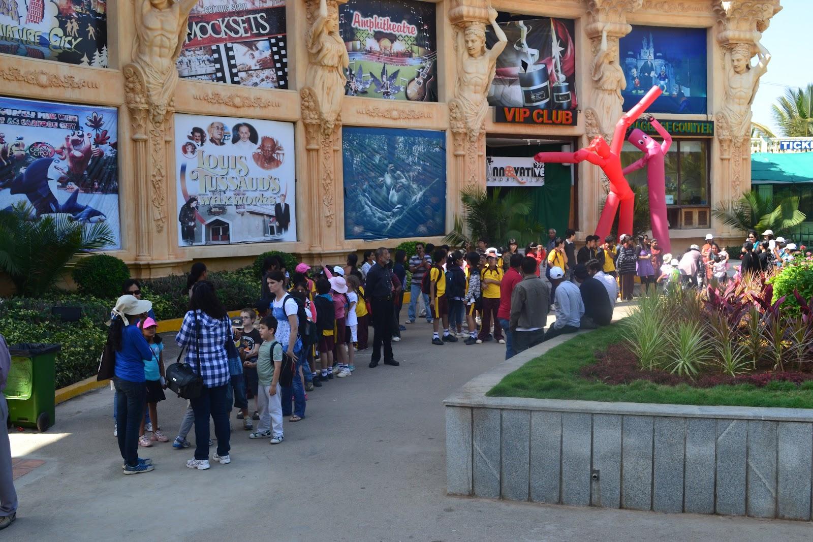 School Outing To Innovative Film City Candor International School