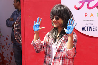 Bollywood and TV Show Celebs Playing Holi 2017   Zoom Holi 2017 Celetion 13 MARCH 2017 013.JPG