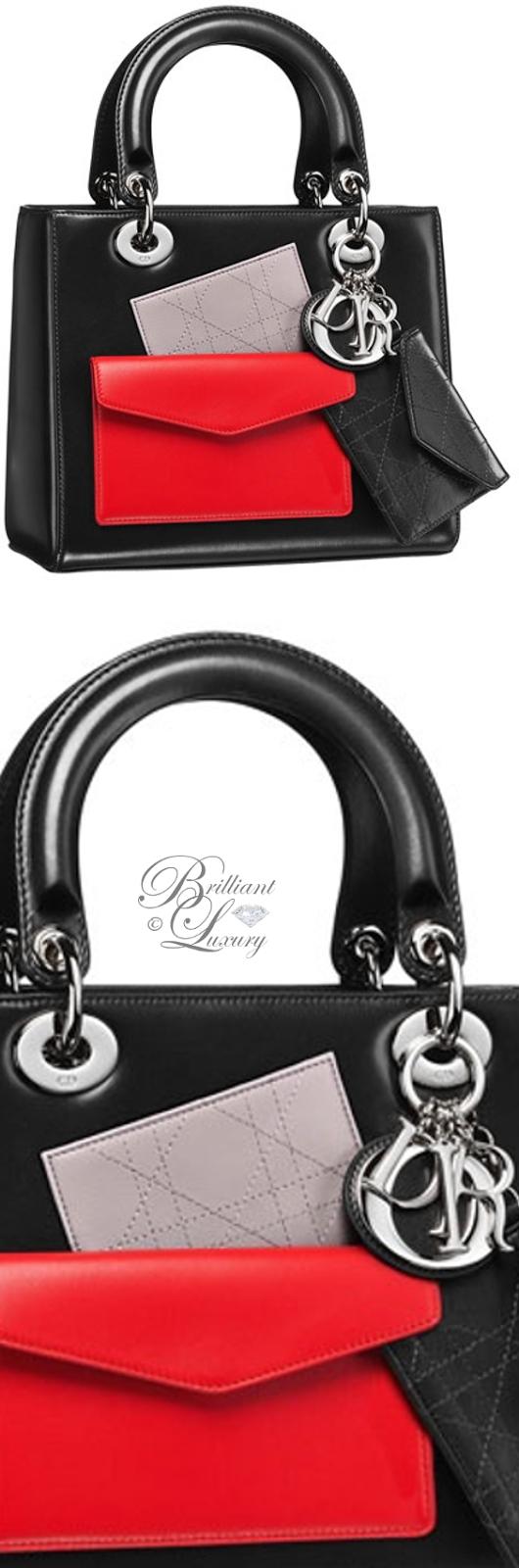 Brilliant Luxury ♦ Dior Lady Dior 'Black Box Calfskin' Bag