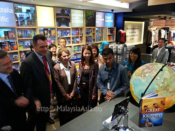 Launching of the Lonely Planet Concept Store Malaysia