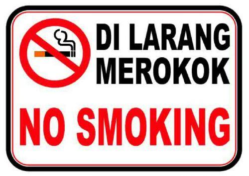 Polres Bangkalan Terapkan Kawasan Dilarang Merokok