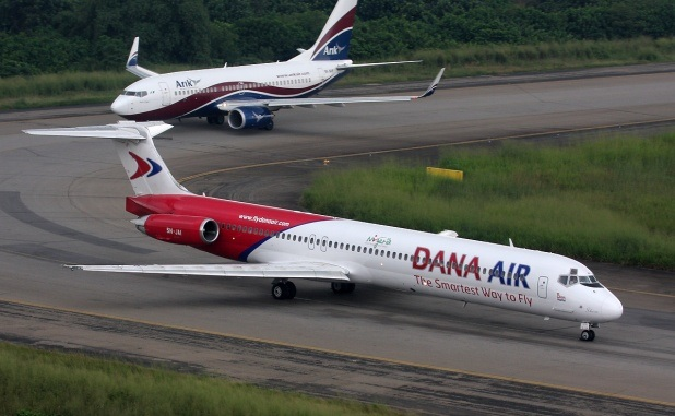 Dana flights grounded as pilots go on strike