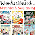Old Lady Who Swallowed... Matching & Sequencing Printables