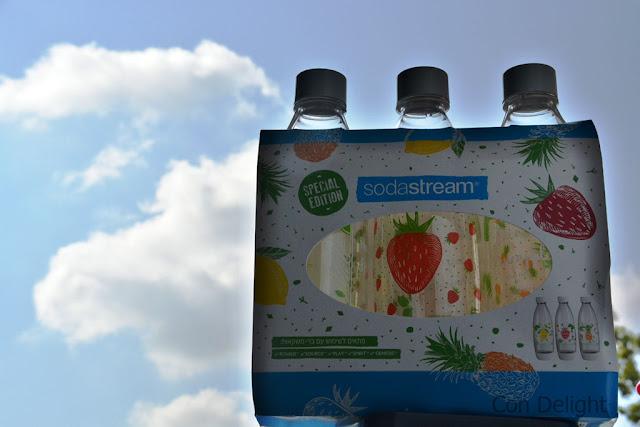 בקבוקים סודה סטרים מעוצבים soda stream designed bottles