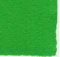 Papel hecho a mano color verde