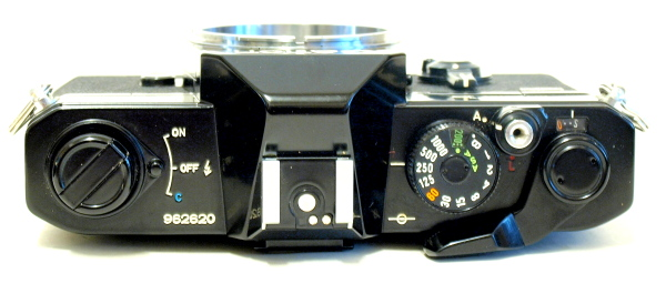 Canon FTb QL, Top