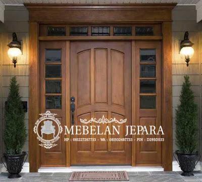 Kusen Pintu Jati Klasik Mewah