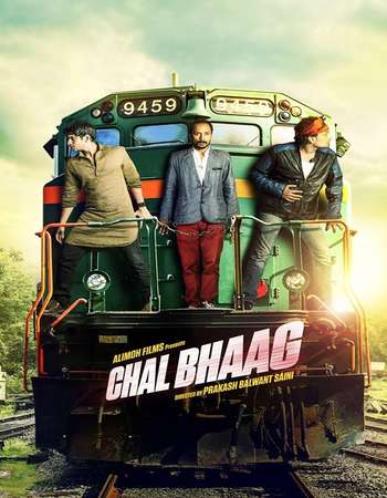 Poster Of Chal Bhaag 2014 Hindi 300MB DVDRip 480p ESubs Free Download Watch Online