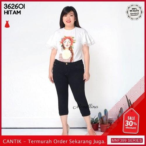 MNF399J110 Jeans 362601 Wanita Jumbo Pendek Denim Jeans 2019 BMGShop