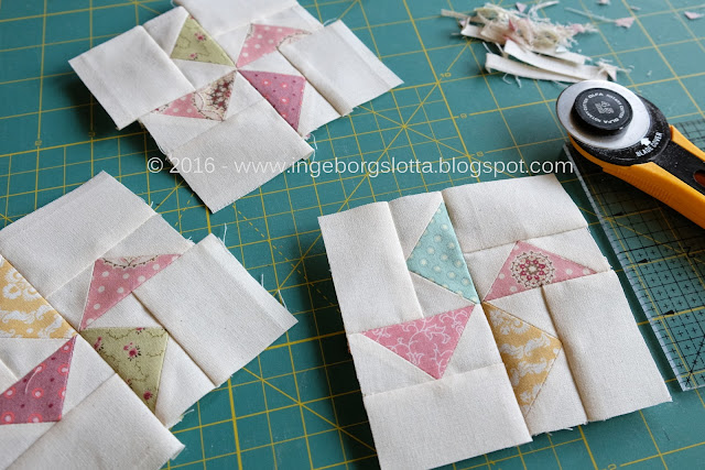 Baby Quilt flying geese