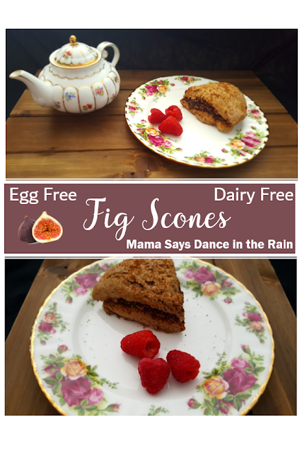Fig Scones Egg Free Dairy Free
