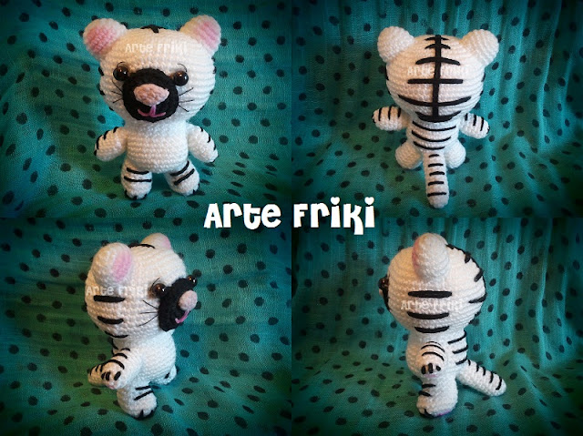 tigre amigurumi tiger animal crochet ganchillo