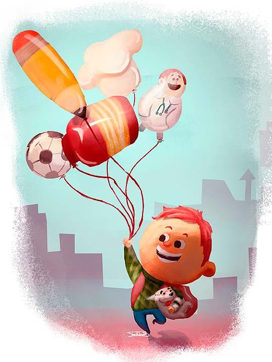 Ilustración de Ivan Barrera
