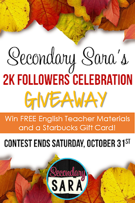 I've recently achieved the milestone of having 2,000 followers on my Teachers Pay Teachers store, so I'm saying thank you! Click through to read how I'm celebrating and thanking you inside this blog post!
