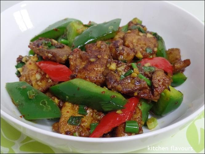 kitchen flavours: Pork With Cumin