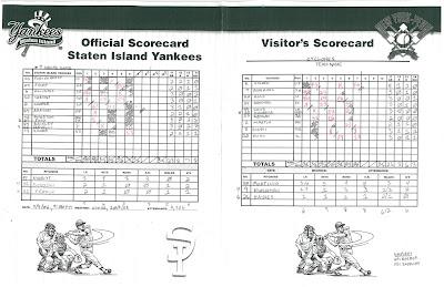 Cyclones vs. Yankees 2, 07-07-06