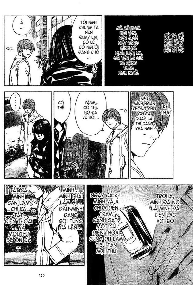 Death Note chapter 013 trang 10