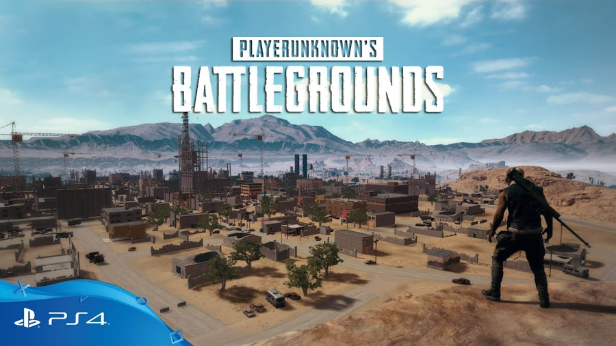 pubg ps4 playerUnknown's battlegrounds battle royale