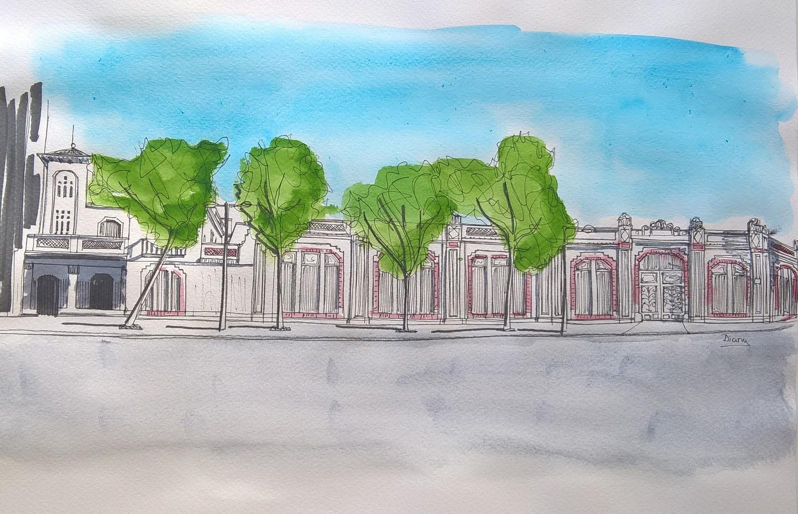 Patrimonio Industrial Arquitectónico: Mis dibujos industriales ...