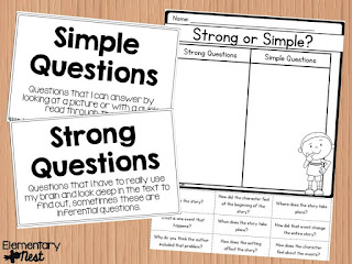 Ask and Answer Questions- Exploring ELA Common Core Standards- Activities and Lessons to teach elementary students to ask and answer questions